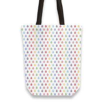 Rainbow droplets pattern Totebag by Savousepate from €25.00 | miPic