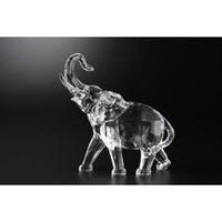 Walmart: Pack of 4 Icy Crystal Decorative Elephant Figurines 7""