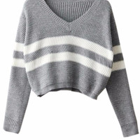 Stacey Knit Cropped Sweater