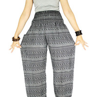 Thai pants Hippie clothes Palazzo pants Hippie pants Gypsy pants  Harem pants Elephant pants Elephant clothes