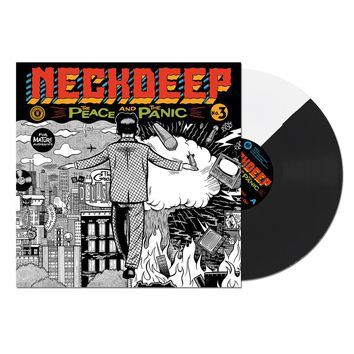 The Peace And The Panic Half Black Half White : HLR0 : Neck Deep