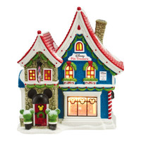 Enesco Department 56 North Pole Village Series, Mickey's Pin Traders 4044837 NIB