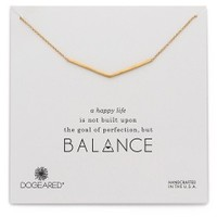 Balance Wide Bar Necklace