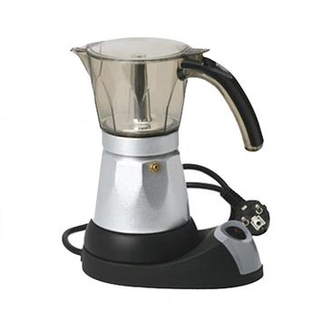 Fully-automatic 3 to 6 Cup Electric Moka Coffee Pot Percolators Tool Filter