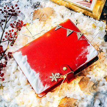 Lovedoki 2017 Winter Red Japanese Notebook Personal Day Dokibook Planner Cute Notebook Agenda Organizer Gifts Stationery A5A6A7