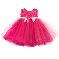 Rare Editions Baby Dress, Baby Girls Special Occasion Dress with Tutu - Kids Shop All Baby - Macy's