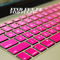 MacBook air decal pro sticker  Keyboard Sticker keyboard decal fensejianbian