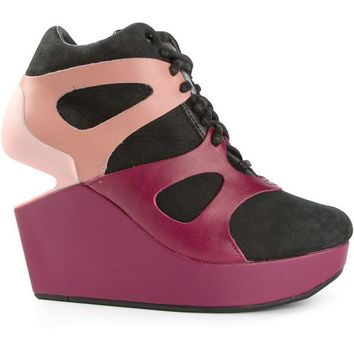 Puma Alexander McQueen wedge cut out trainers