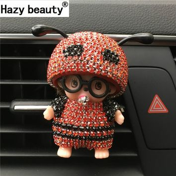 Hazy beauty Car Perfume Glasses Kiki Bee Outlet Perfume The Air Port Ant Antenna Parfum Women Perfume Original Car-styling