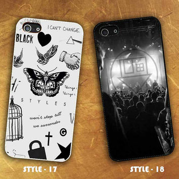 One Direction Harry Styles Tattoos & The Neighbourhood for iPhone and Samsung Case