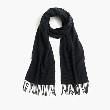 J.Crew Mens Norse Projects Double-Faced Merino-Cashmere Scarf