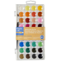 Artist's Loft™ Fundamentals™ Watercolor Pan Set