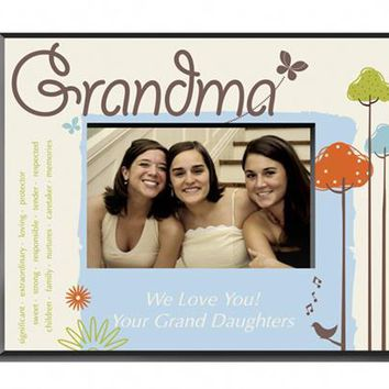 Nature's Song Picture Grandma Frame Free Customization