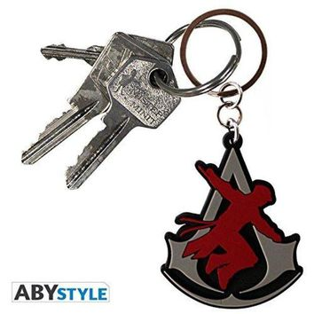 LMFN3C ASSASSIN'S CREED Keychain PVC Crest