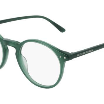 Bottega Venetta - BV0192O Green Eyeglasses / Demo Lenses