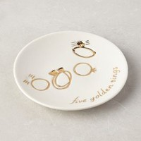 True Love Ring Dish by Anthropologie