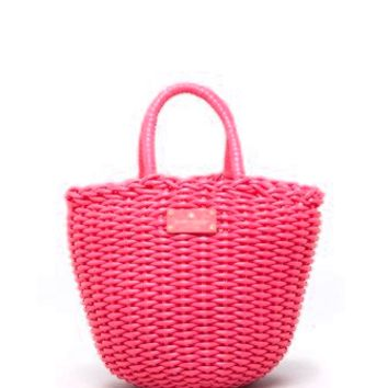 Kate Spade New York Beach Club Woven Beth Basket Tote
