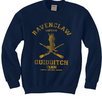 CAPTAIN Ravenclaw Quidditch team Unisex Sweatshirt