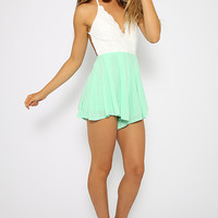 Super Love Playsuit - Green