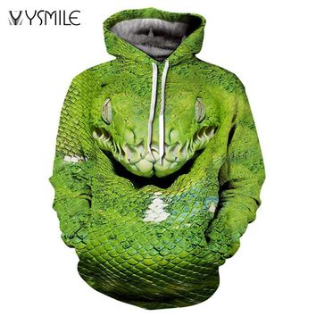 Men&Women Hoodies Hoody Sweatshirts Snake 3D Print Animal Couple Plus Size Hoodie Pullovers Autumn Windbreaker Outwear Tracksuit
