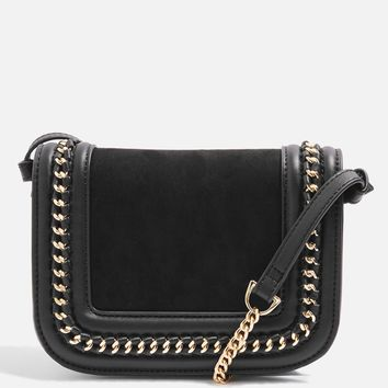 Carmel Chain Flap Cross Body Bag | Topshop