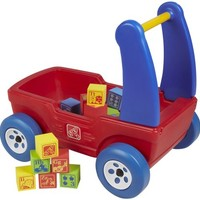 Step2 Walker Wagon with Blocks - Free Shipping