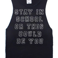 Stay In School Tank