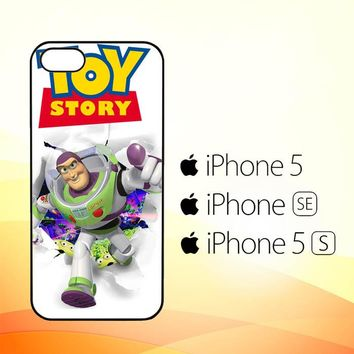 Rare Toy Story Buzz Lightyear F0612  iPhone 5|5S|SE Case