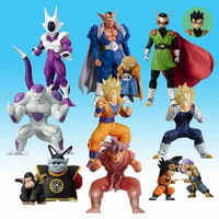 Bandai Dragon Ball Z Super Modeling Soul Of Hyper Figuration Part 7 9 Color 9 Monochrome 18 Figure Set