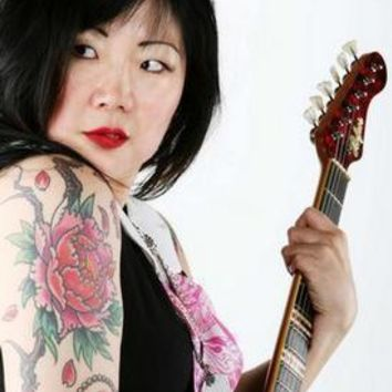 Margaret Cho Tattoos Guitar Poster Standup 4inx6in
