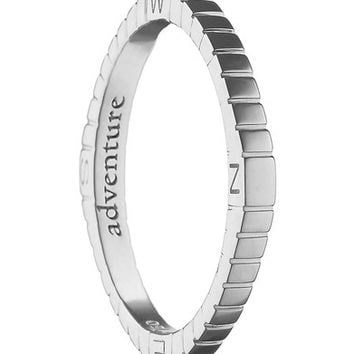 Monica Rich Kosann Adventure Compass Poesy Ring Charm | Nordstrom