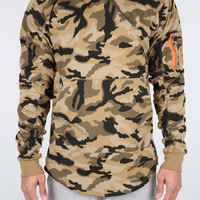 The Grand Flight Hoodie in Camo