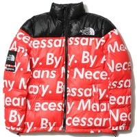 Best Deal Online The North Face Supreme Fashion Down Jacket Cotton Coats Red