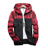 Men's Camouflage Casual Jacket
