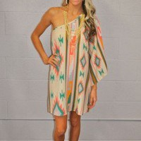 L.A. Barbie One shoulder Dress - Modern Vintage Boutique