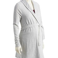 Old Navy Maternity Belted French Terry Cardigan