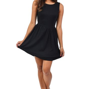 Black Skater Dress at Blush Boutique Miami - ShopBlush.com