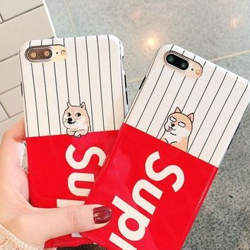 Supreme phone case shell  for iphone 6/6s,iphone 6p/6splus,iphone 7/8,iphone 7p/8plus, iphonex