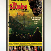 The Goonies - 1950's-1960's Retro Alternative Movie Poster