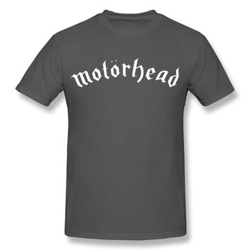 Motorhead Logo Mens Cotton Short Sleeve Tshirt