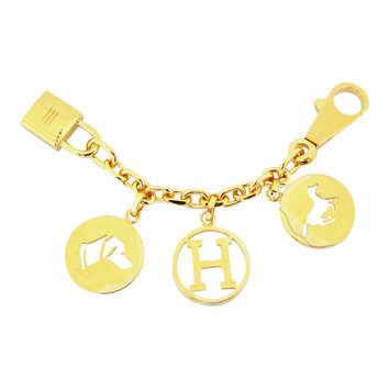 Hermes Breloque Charm Gold GHW Bag Charm for Birkin or Kelly