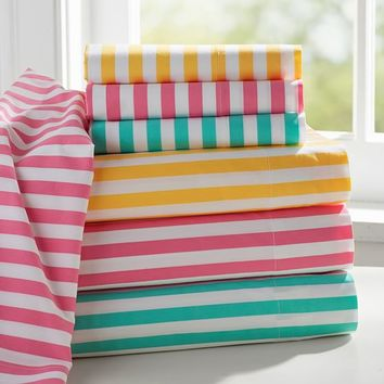 Candy Stripe Sheet Set