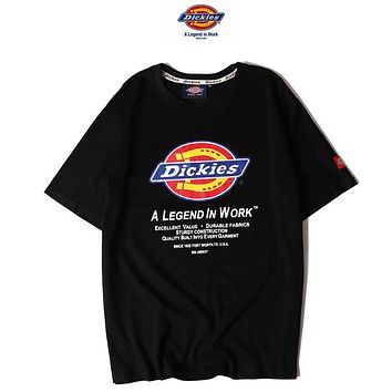 Dickies Woman Men Fashion Casual Tunic Shirt Top Blouse