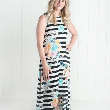 Lovely Duo Maxi Dress