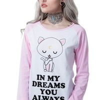 Dreams Raglan Top [B]