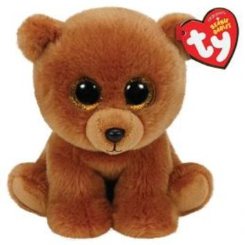 Wild Bear 6 Inch Beanie Baby | Girls Small Plush Stuffed Animals | Shop Justice