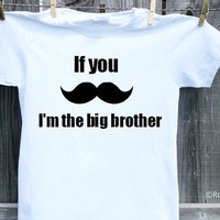 Big Brother Mustache Shirt, Moustache Shirt