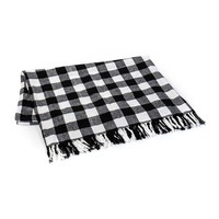 NEW BLACK BUFFALO CHECK THROW