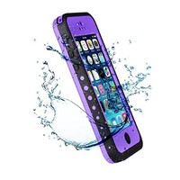 E.C.L USA ® iPhone 5C Case, Waterproof Dirtproof Shockproof Durable Hard Cover Case For Apple iPhone 5C All Carreires (Purple)
