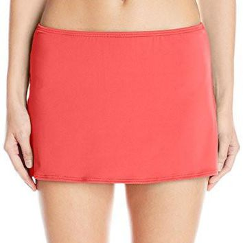 Coco Reef Women's Solid Slit Swim Skirt
